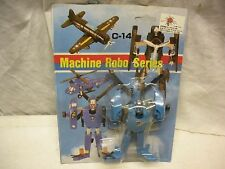 TRANSFORMER MACHINE ROBO SERIES #14 HELICOPTER MINT ON CARD