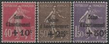 "FRANCE STAMP TIMBRE N°266/68 "" SEMEUSE 4ème SERIE C.A.1930 "" NEUF xx LUXE M738"