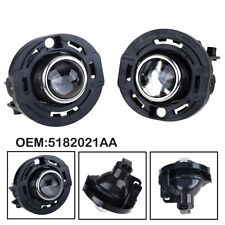 for 14+ CHRYSLER 200/300/DODGE AVENGER/DURANGO FRONT BUMPER FOG LIGHTS LAMP PAIR