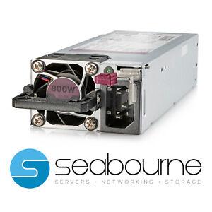 HPE 800W Flex Slot Platinum Hot Plug LH Power Supply Kit 865414-B21 866730-001