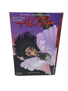 Battle Angel Alita Deluxe 4 (Contains Vol. 7-8) by Yukito Kishiro: New
