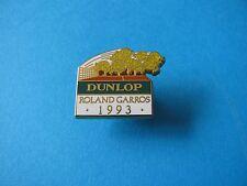 1993 DUNLOP Roland Garros Tennis Ball pin badge. Enamel. Arthus Bertrand. VGC