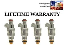 4x Genuine Flow Match Fuel Injectors For 98-01 Ford Ranger, Mazda B2500 2.5L OEM