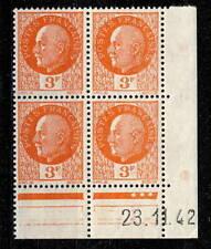 Timbres français neufs de 1941 à 1950 orange