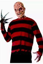 New Freddy Krueger EVA Mask Shirt Nightmare On Elm Street XL Costume