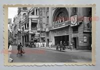QUEEN'S MOVIE CINEMA THEATER DES VOEUX ROAD VINTAGE Hong Kong Photo 16341 香港旧照片