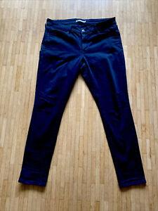 Levi's 711 Jeans Schwarz  W32 L30 Skinny (32/30) neuwertig