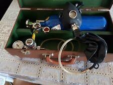 Komplette Sauerstoffgerät Tauchen Techdiving Sauerstoff-Maske Selten!