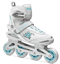 Roces 400796 Women's Inline Skates UK7 US10 Eu41 White/Azure NEW RRP £119 #CW100