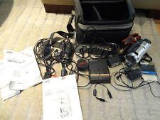 JVC Digital Video Camera GR-DVL9500 Mini DV Camcorder W/ Bag & Accessories