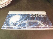 Original 1960 Mercury Comet Sales Brochure