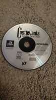 Castlevania: Symphony of the Night Sony PlayStation 1 PS1  Works Please Read!!