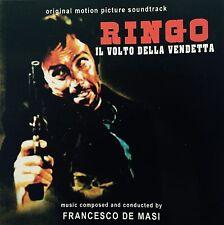 FRANCESCO DE MASI-RINGO IL VOLTO DELLA VENDETTA-Spaghetti Western Soundtrack CD