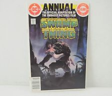 DC Swamp Thing Comic Book