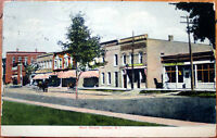 1908 NY Postcard: 'Main Street View - Victor, New York'