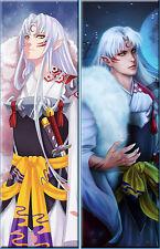 "Japan Anime 59"" Inuyasha Dakimakura Sesshoumaru Hugging Body Pillow Cover Case"