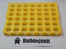 2002 Connect Four Board Game Grid Holder Part Only Replacement Pieces