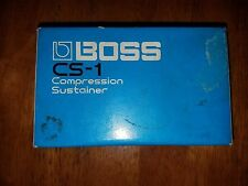 1979-1982 Boss CS-1 Compression  Sustainer  MIJ Japan Vintage Effects Pedal...