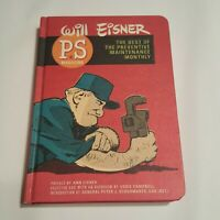 PS Magazine Best of Preventive Maintenance Monthly Abrams Hardcover Will Eisner