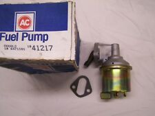AC Delco Fuel Pump #41217 Chevy Big Block engine, early 70's  NIB