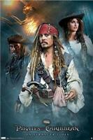 PIRATES OF THE CARIBBEAN ~ ON STRANGER TIDES TRIO 22x34 MOVIE POSTER NEW/ROLLED!