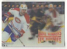 1995-96 Pinnacle McDonald's Game Winners - #13 - Pierre Turgeon - Canadiens