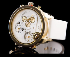 "Unisex Executive 3 Time Zone Large Watch ""Regency"""