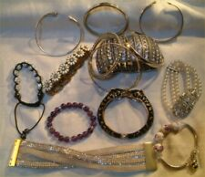 Bracelets + Bangles.Interesting Variations (No2) Large Collection Of X 14