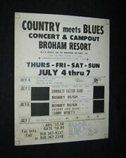 COLORCRAFT COUNTRY MEETS BLUES Mock Up Card BOBBY RUSH Tammy Wynette DESERT OKIE