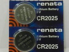 RENATA  CR2025 Lithium Baterry 3Volt   2Pc