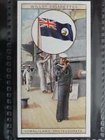 No.21 SOMALILAND PROTECTORATE - Flags of The Empire 2nd Series - Wills Ltd 1929