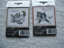 Hunkydory cat stamps