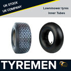 All sizes of Turf tyre, Lawn mower tyres, Lawn mower inner tubes, Ride on mower