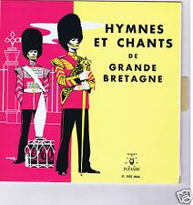 """25 CM 10 """" HYMNES & CHANTS DE GRANDE BRETAGNE (ENGLISH HYMNES & SONGS)"""