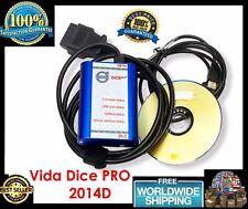 2017 Newest VIDA DICE 2014D PRO VOLVO Full Chip Scanner OBD2 Diagnostic Tool