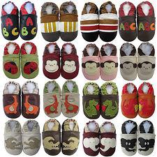 carozoo Bébé/enfants cuir confortable chaussures/pantoufles soft-seule à 8 ans