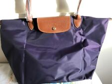 9d6d25d55522 Longchamp Le Pliage Large 1899 Nylon Tote Bag New-Bilberry