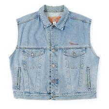 Vintage DIESEL Sleeveless Denim Jacket | Men's XL | Retro Jeans Jean Coat Vest