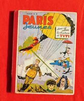 Paris Jeunes AVENTURES Album n°2 (n°21 à 40) 1946 - TBE