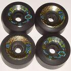 SANTA CRUZ  Bullet Skateboard Wheels 63mm 92a  Black - 80s Old School Originals