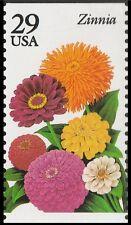 US 2830 Garden Flowers Zinnia 29c single MNH 1994