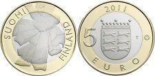 5 EURO FINLANDE 2011 UNC - PROVINCE HISTORIQUE OSTROBOTNIE