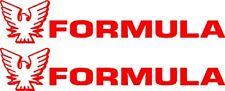 "11"" Custom FORMULA Logo Decal Sticker - Pair - L@@K"