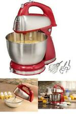 Professional Commercial Kitchen Classic Hand and Stand Mixer 4 Quart 6Speed 290W