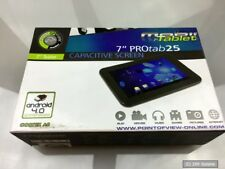 7 Tablet PC Point of View Protab 25, Android 4.0, 4gb, webcam, G-sensor, WLAN