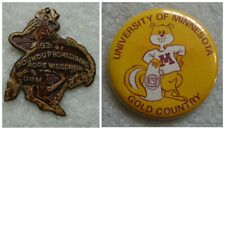 1931 Minnesota Gophers vs. Wisconsin Badgers Homecoming Pin Button