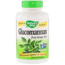 Glucomannan Fibre 665mg 100 Végétarien Capsules Coupe-Faim Perte de Poids Régime
