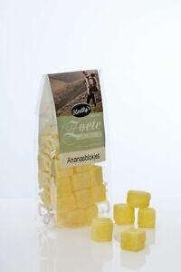Kindly's Ananas Würfel - Ananasblokjes - Hartbonbons - 170 g
