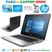 "HP Laptop TouchScreen Gaming Windows10 Core i5 Office Wifi 12.5"" 256Gb SSD Boxed"