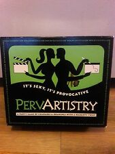 Perv Artistry Adult Board Game